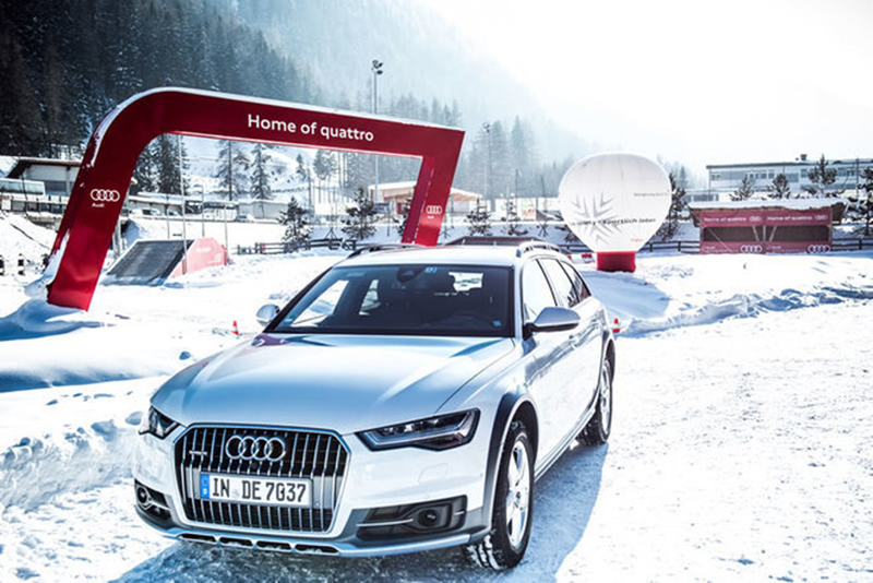 Audi Driving Experience St Anton