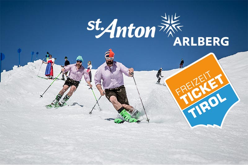 Freizeitticket Tirol – 3 days of skiing in St Anton